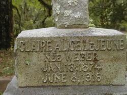 Claire Alice <i>Weber</i> Lejeune