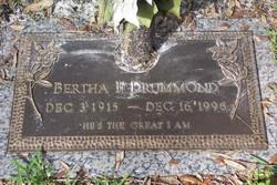 Bertha Florene <i>Roberts</i> Drummond