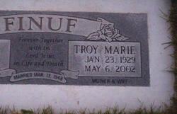 Troy Marie <i>Talkington</i> Finuf