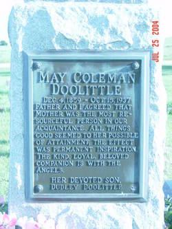 May <i>Coleman</i> Doolittle