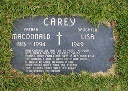 MacDonald Carey