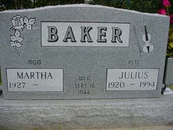 Martha <i>Rust</i> Baker