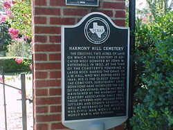 Harmony Hill Cemetery