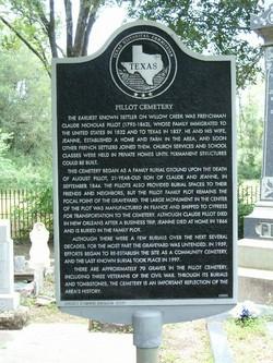 Carmen Nelson Bostick-Pillot Cemetery