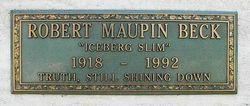 Robert Maupin Iceberg Slim Beck