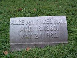 Alice <i>Anheuser</i> Nall
