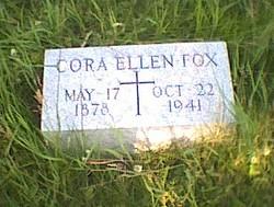 Cora Ellen <i>Kaiser</i> Fox