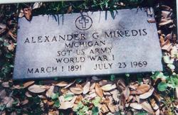 Alexander George Mikedis