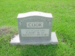 Elbert M Cook, Sr