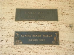 Niles Eugene Welch