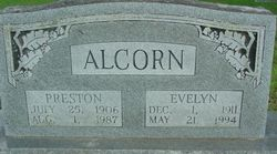 Evelyn <i>Hood</i> Alcorn