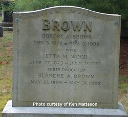 Etta M. <i>Wood</i> Brown