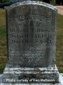 Mary E. <i>Arnold</i> Brown