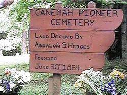 Canemah Historic Pioneer Cemetery
