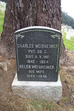 Pvt Charles Weisheimer