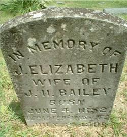 J. Elizabeth <i>McKennon</i> Bailey