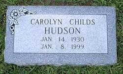 Carolyn <i>Childs</i> Hudson