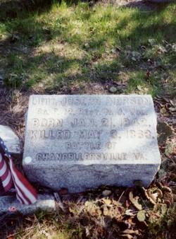Lieut Joseph H. Pierson