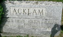Sadie L. <i>Smith</i> Acklam