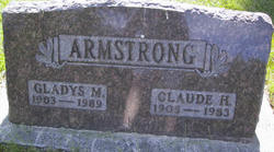 Gladys M Armstrong