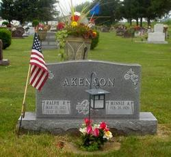 Minnie Alvina Mynn <i>Avery</i> Akenson