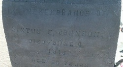 Sixtus Ellis Johnson