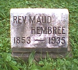 Rev Maud Hembree