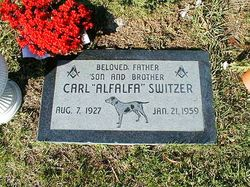 Carl Alfalfa Switzer