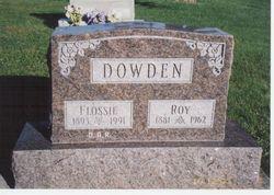 Flossie <i>Hutchens</i> Dowden