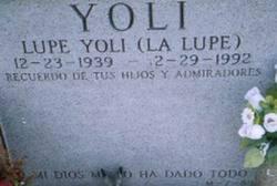 Guadalupe La Lupe Yoli