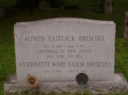 Alfred Eastlack Driscoll
