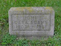 John Carr Adams