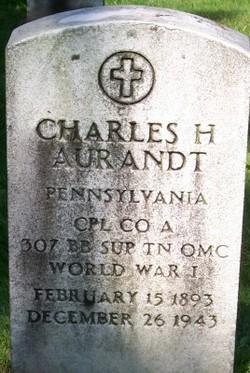 Corp Charles Harold Aurandt