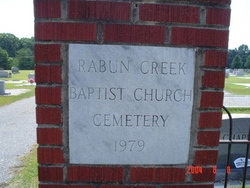 Rabun Creek Baptist Church Cemetery