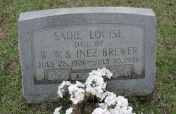 Sadie Louise Brewer