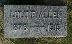 Lulu E Allen