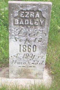 Ezra Badley