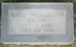 Marie <i>Williamson</i> Brehm
