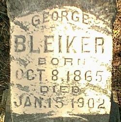 George Bleiker