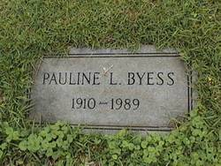 Willie Pauline <i>Letson</i> Byess