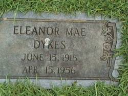 Eleanor Mae <i>Letson</i> Dykes