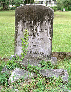 Mattie E. <i>Lewis</i> Allen