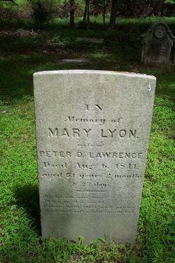 Mary <i>Lyon</i> Lawrence