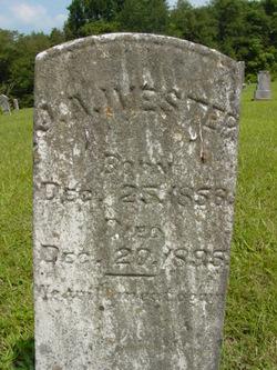Jackson Alexander Ivester, Sr