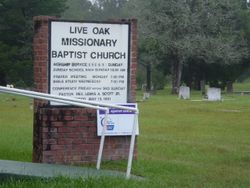 Live Oak Baptist Church Cemetery