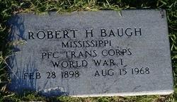 Robert H Baugh