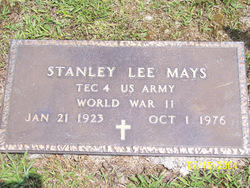 Stanley Lee Mays