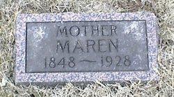 Maren <i>Knudsen</i> Christensen