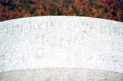 Ethelyn <i>Edwards</i> Crowe