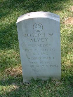 Pvt Joseph W. Alvey